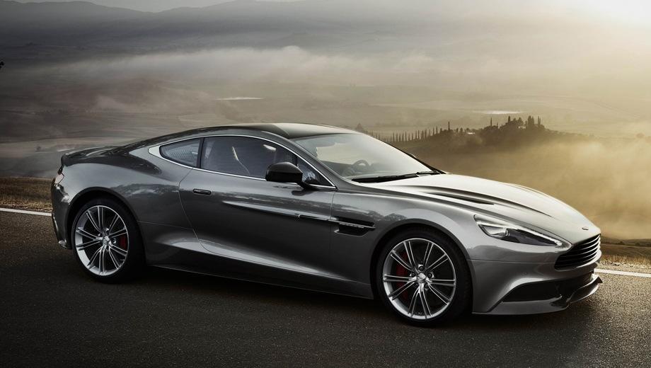 Aston Martin Vanquish. Выпускается с 2012 года. Одна базовая комплектация. Цена 29 555 388 руб.Двигатель 5.9, бензиновый. Привод задний. КПП: автоматическая.
