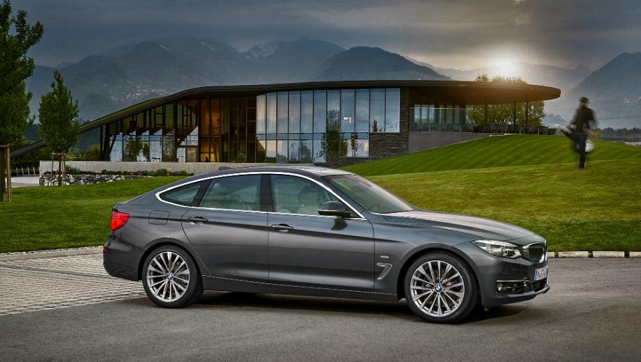 BMW 3 GT. Выпускается с 2013 года. Две базовые комплектации. Цена 2 920 000 руб.Двигатель 2.0, бензиновый и дизельный. Привод полный. КПП: автоматическая.