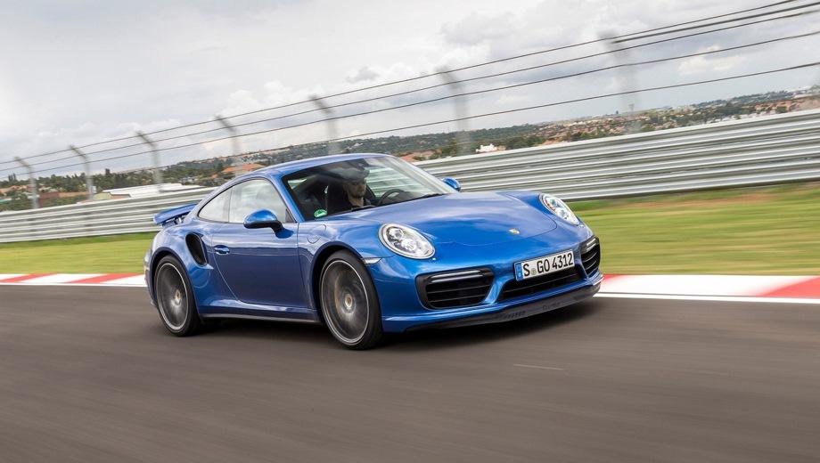 Porsche 911 Turbo Coupe. Выпускается с 2013 года. Три базовые комплектации. Цены от 11 947 000 до 17 188 000 руб.Двигатель 3.8, бензиновый. Привод полный. КПП: роботизированная.