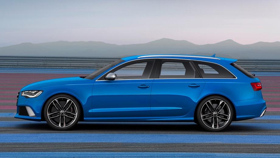 Audi RS6 Avant. Выпускается с 2013 года. Одна базовая комплектация. Цена 8 230 000 руб.Двигатель 4.0, бензиновый. Привод полный. КПП: автоматическая.