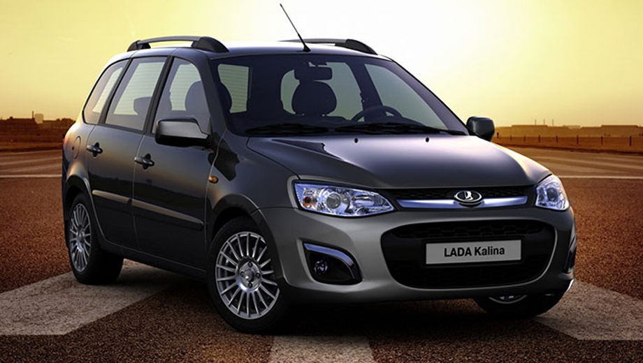 Lada Kalina Wagon (2013). Выпускается с 2013 года. Пятнадцать базовых комплектаций. Цены от 471 200 до 623 800 руб.Двигатель 1.6, бензиновый. Привод передний. КПП: механическая, роботизированная и автоматическая.