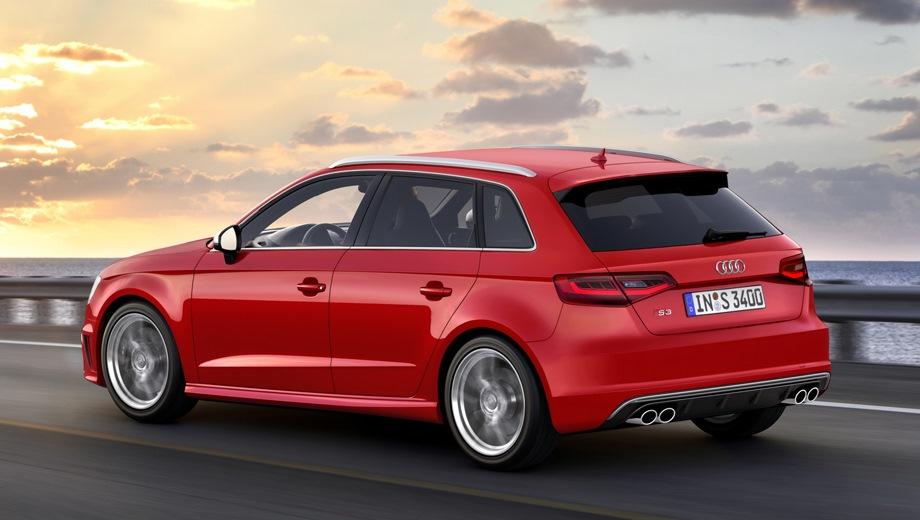 Audi S3 Sportback. Выпускается с 2013 года. Две базовые комплектации. Цены от 2 679 000 до 2 750 000 руб.Двигатель 2.0, бензиновый. Привод полный. КПП: механическая и роботизированная.