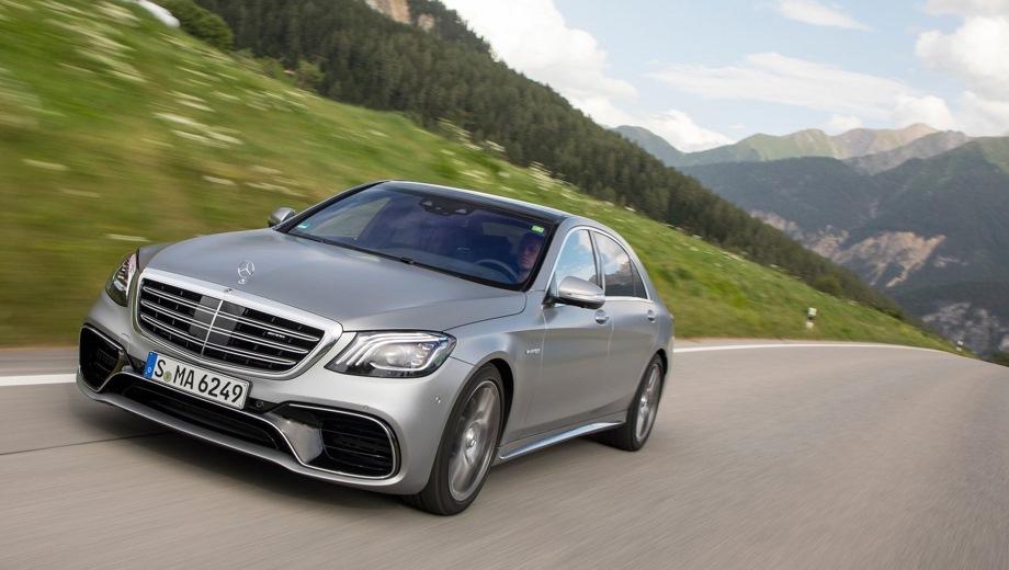 Mercedes-Benz S 63 AMG. Выпускается с 2013 года. Одна базовая комплектация. Цена 10 440 000 руб.Двигатель 4.0, бензиновый. Привод полный. КПП: автоматическая.