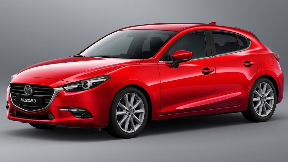 Mazda 3 Hatchback. Выпускается с 2013 года. Одна базовая комплектация. Цена 1 334 000 руб.Двигатель 1.5, бензиновый. Привод передний. КПП: автоматическая.