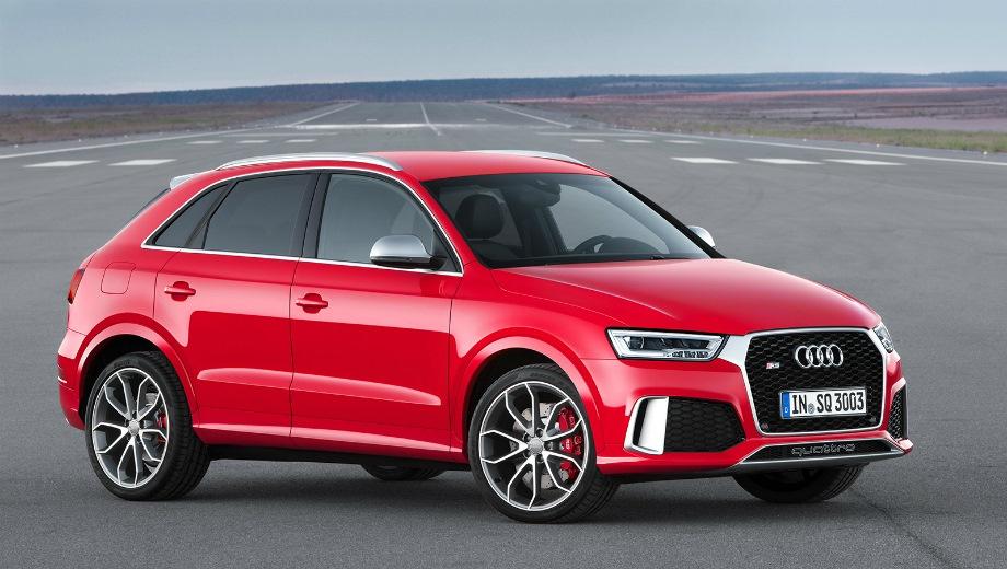 Audi RS Q3. Выпускается с 2013 года. Одна базовая комплектация. Цена 3 685 000 руб.Двигатель 2.5, бензиновый. Привод полный. КПП: роботизированная.