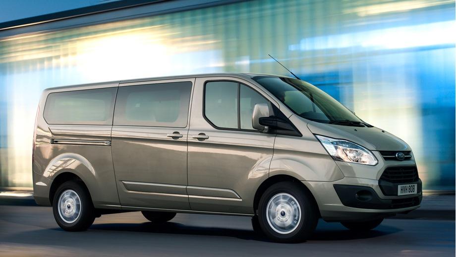 Ford Tourneo Custom. Выпускается с 2012 года. Четыре базовые комплектации. Цены от 2 286 000 до 2 436 000 руб.Двигатель 2.2, дизельный. Привод передний. КПП: механическая.