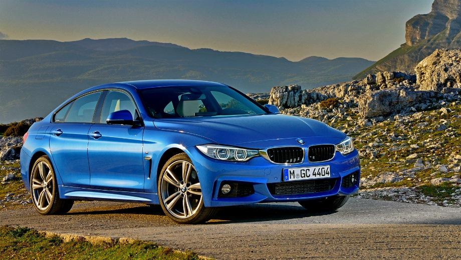 BMW 4 Series Gran Coupe. Выпускается с 2014 года. Пять базовых комплектаций. Цены от 2 690 000 до 3 730 000 руб.Двигатель от 2.0 до 3.0, бензиновый и дизельный. Привод задний и полный. КПП: автоматическая.