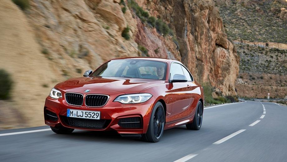 BMW 2 Series. Выпускается с 2013 года. Пять базовых комплектаций. Цены от 1 899 500 до 2 990 000 руб.Двигатель от 1.5 до 3.0, бензиновый и дизельный. Привод задний и полный. КПП: механическая и автоматическая.