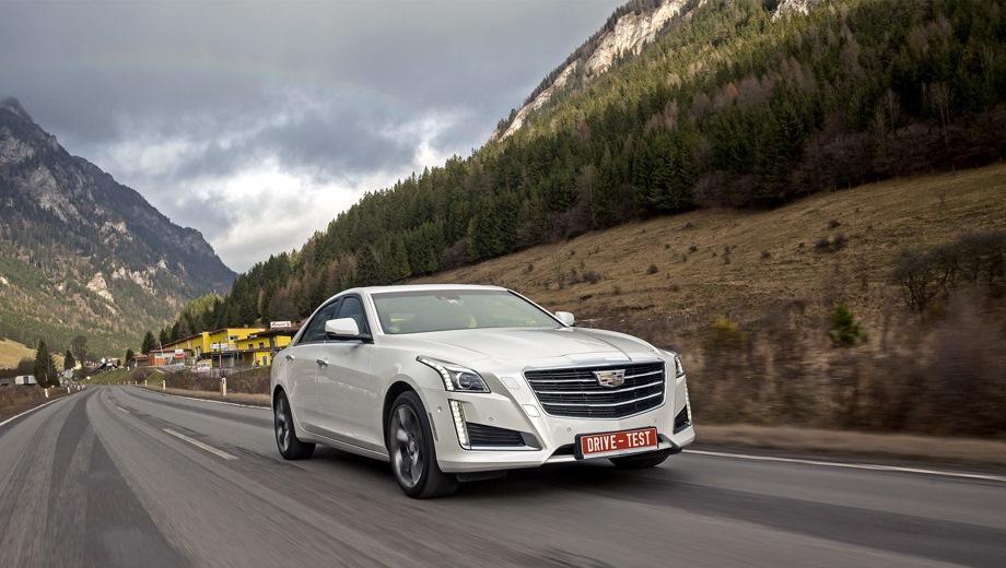 Cadillac CTS. Выпускается с 2014 года. Три базовые комплектации. Цены от 2 790 000 до 3 790 000 руб.Двигатель от 2.0 до 3.6, бензиновый. Привод задний и полный. КПП: автоматическая.
