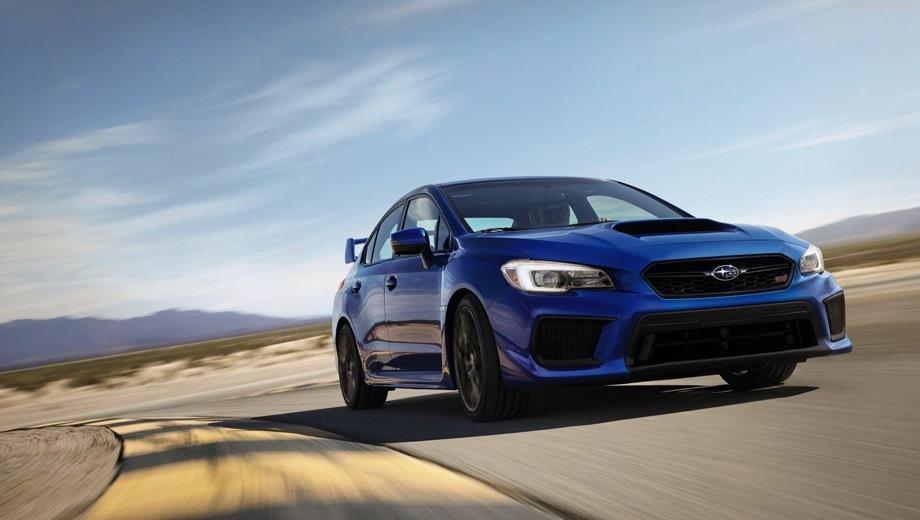 Subaru WRX STI. Выпускается с 2014 года. Одна базовая комплектация. Цена 4 359 900 руб.Двигатель 2.5, бензиновый. Привод полный. КПП: механическая.