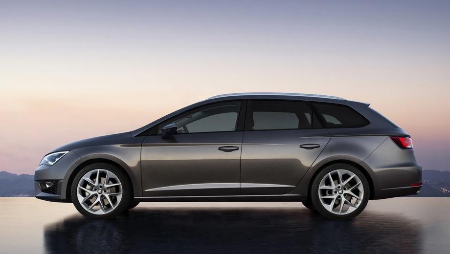 SEAT Leon ST. Выпускается с 2013 года. Двенадцать базовых комплектаций. Марка официально не представлена на российском рынке.Двигатель от 1.2 до 1.8, бензиновый. Привод передний. КПП: механическая и роботизированная.