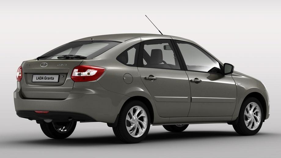 Lada Granta Hatchback. Выпускается с 2014 года. Тринадцать базовых комплектаций. Цены от 430 900 до 588 700 руб.Двигатель 1.6, бензиновый. Привод передний. КПП: механическая, роботизированная и автоматическая.