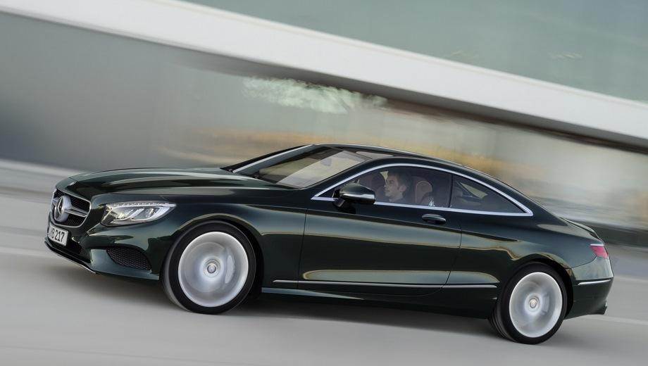 Mercedes-Benz S Coupe (2014). Выпускается с 2014 года. Одна базовая комплектация. Цена 8 450 000 руб.Двигатель 4.7, бензиновый. Привод полный. КПП: автоматическая.