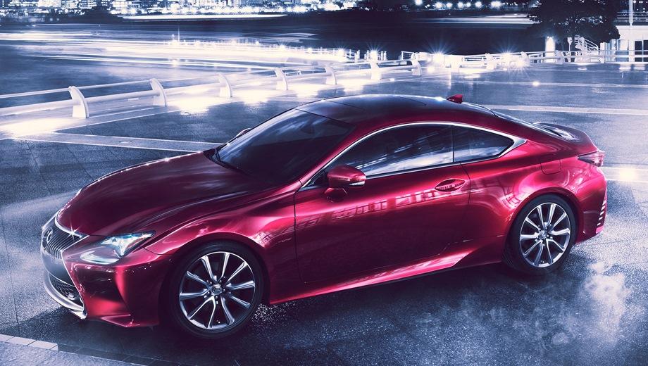 Lexus RC. Выпускается с 2014 года. Одна базовая комплектация. Цена 3 979 000 руб.Двигатель 2.0, бензиновый. Привод задний. КПП: автоматическая.