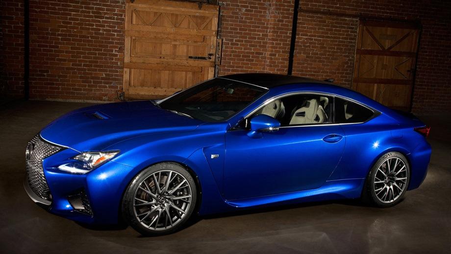 Lexus RC F. Выпускается с 2014 года. Одна базовая комплектация. Цена 6 484 000 руб.Двигатель 5.0, бензиновый. Привод задний. КПП: автоматическая.