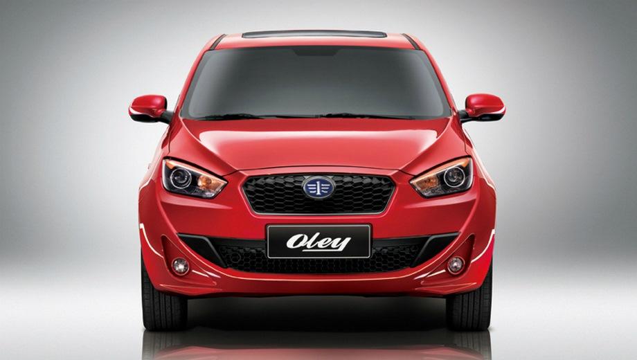 FAW Oley. Выпускается с 2014 года. Три базовые комплектации. Цены от 520 000 до 600 000 руб.Двигатель 1.5, бензиновый. Привод передний. КПП: механическая и автоматическая.