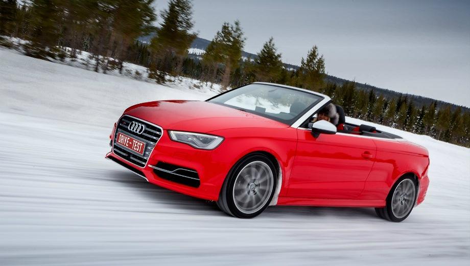 Audi S3 Cabriolet. Выпускается с 2014 года. Одна базовая комплектация. Цена 3 125 000 руб.Двигатель 2.0, бензиновый. Привод полный. КПП: роботизированная.