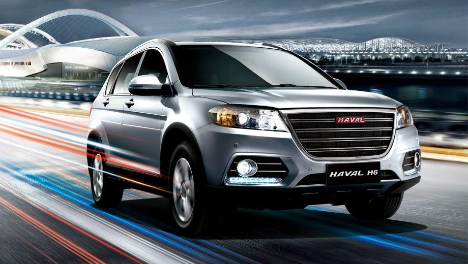 Haval H6. Выпускается с 2011 года. Семь базовых комплектаций. Цены от 1 187 800 до 1 382 000 руб.Двигатель 1.5, бензиновый. Привод передний и полный. КПП: механическая и автоматическая.