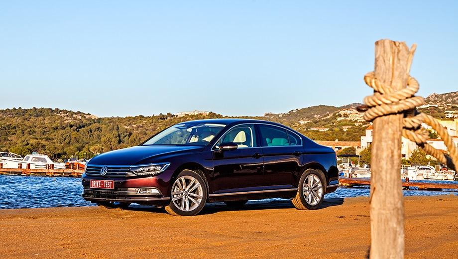 Volkswagen Passat. Выпускается с 2014 года. Десять базовых комплектаций. Цены от 1 499 000 до 2 189 000 руб.Двигатель от 1.4 до 2.0, бензиновый и дизельный. Привод передний. КПП: механическая и роботизированная.