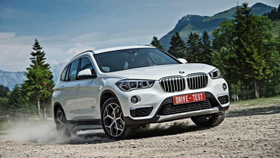 BMW X1. Выпускается с 2015 года. Четыре базовые комплектации. Цены от 2 020 000 до 2 530 000 руб.Двигатель от 1.5 до 2.0, бензиновый и дизельный. Привод передний и полный. КПП: автоматическая.