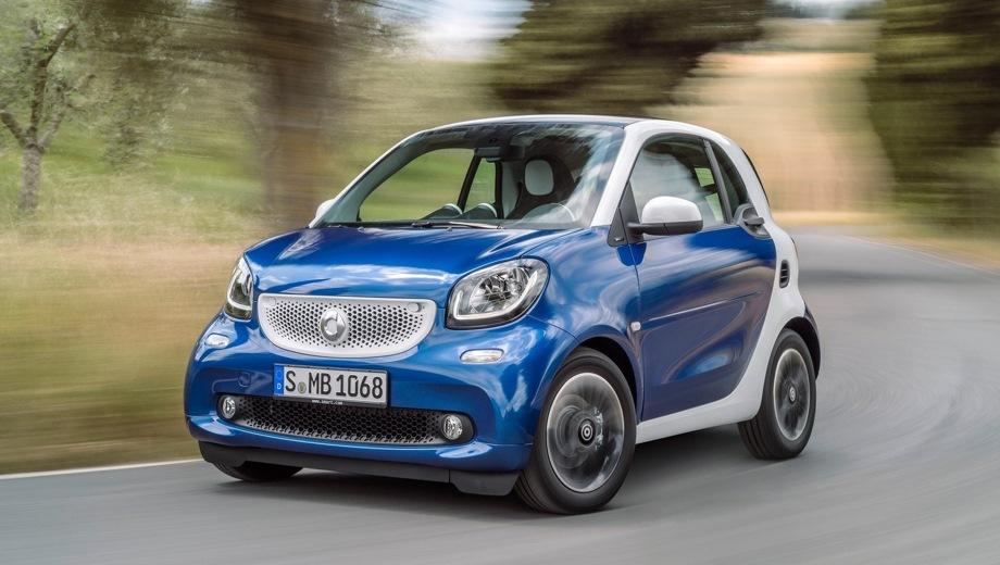 Smart ForTwo. Выпускается с 2014 года. Десять базовых комплектаций. Цены от 790 000 до 1 586 967 руб.Двигатель от 0.9 до 1.0, бензиновый. Привод задний. КПП: механическая и роботизированная.