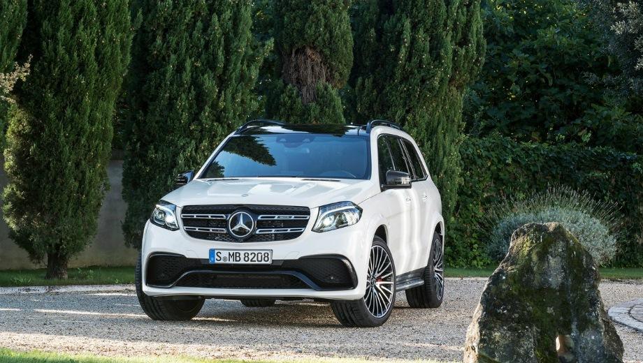 Mercedes-Benz GLS 63 AMG. Выпускается с 2016 года. Одна базовая комплектация. Цена 9 950 000 руб.Двигатель 5.5, бензиновый. Привод полный. КПП: автоматическая.
