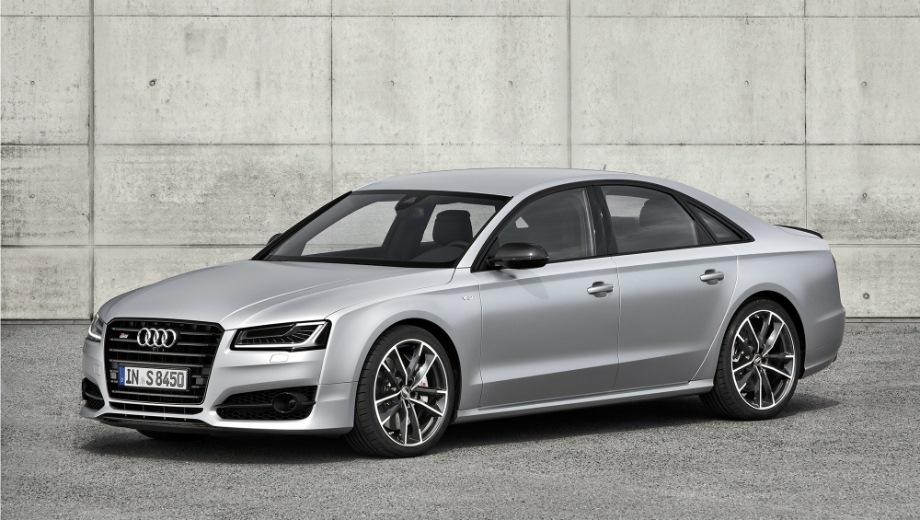 Audi S8 plus. Выпускается с 2015 года. Одна базовая комплектация. Цена 9 280 000 руб.Двигатель 4.0, бензиновый. Привод полный. КПП: автоматическая.