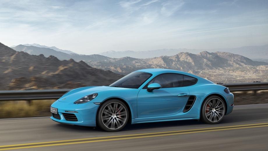 Porsche 718 Cayman. Выпускается с 2016 года. Шесть базовых комплектаций. Цены от 3 811 000 до 5 394 051 руб.Двигатель от 2.0 до 2.5, бензиновый. Привод задний. КПП: механическая и роботизированная.