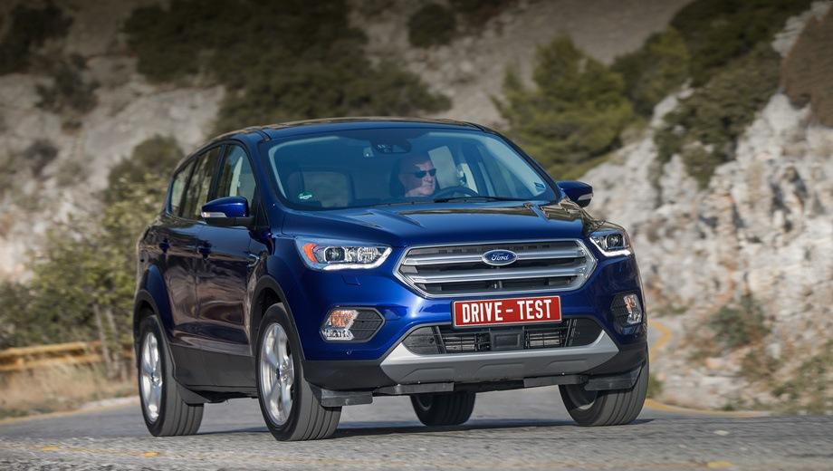 Ford Kuga new. Выпускается с 2012 года. Девять базовых комплектаций. Цены от 1 544 000 до 2 172 000 руб.Двигатель от 1.5 до 2.5, бензиновый. Привод передний и полный. КПП: автоматическая.