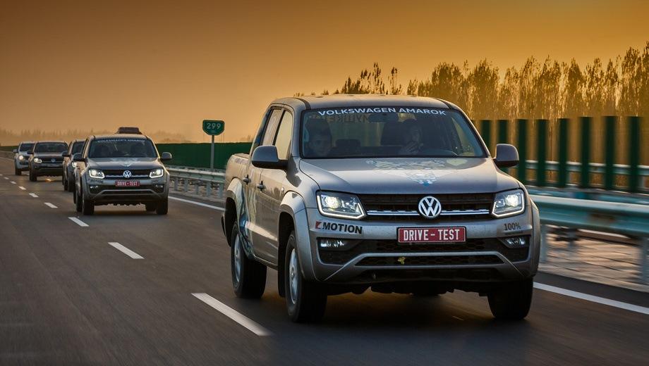 Volkswagen Amarok. Выпускается с 2016 года. Одиннадцать базовых комплектаций. Цены от 2 429 300 до 3 926 800 руб.Двигатель от 2.0 до 3.0, дизельный. Привод полный. КПП: механическая и автоматическая.