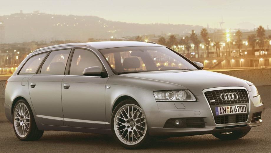 Audi A6 Avant (2005). Выпускается с 2005 года. Десять базовых комплектаций. Цены от 1 705 300 до 3 142 500 руб.Двигатель от 2.0 до 4.2, бензиновый и дизельный. Привод передний и полный. КПП: механическая, вариатор и автоматическая.