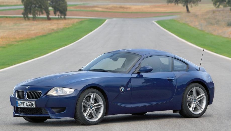 BMW Z4 M Coupe. Выпускается с 2005 года. Одна базовая комплектация. Цена 2 579 400 руб.Двигатель 3.2, бензиновый. Привод задний. КПП: механическая.