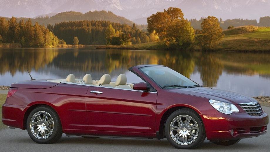 Chrysler Sebring Cabrio. Выпускается с 2007 года. Одна базовая комплектация. Цена 3 644 256 руб.Двигатель 2.7, бензиновый. Привод передний. КПП: автоматическая.