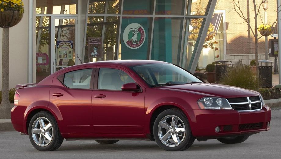 Dodge Avenger. Выпускается с 2007 года. Пять базовых комплектаций. Марка официально не представлена на российском рынке.Двигатель от 2.0 до 2.4, бензиновый. Привод передний. КПП: механическая и автоматическая.