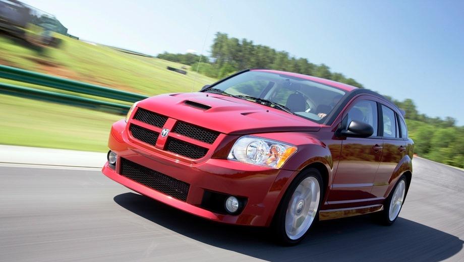 Dodge Caliber SRT4. Выпускается с 2006 года. Одна базовая комплектация. Марка официально не представлена на российском рынке.Двигатель 2.4, бензиновый. Привод передний. КПП: механическая.