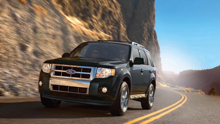 Ford Escape. Выпускается с 2008 года. Две базовые комплектации. Цены от 1 050 000 до 1 180 000 руб.Двигатель 2.3, бензиновый. Привод полный. КПП: автоматическая.