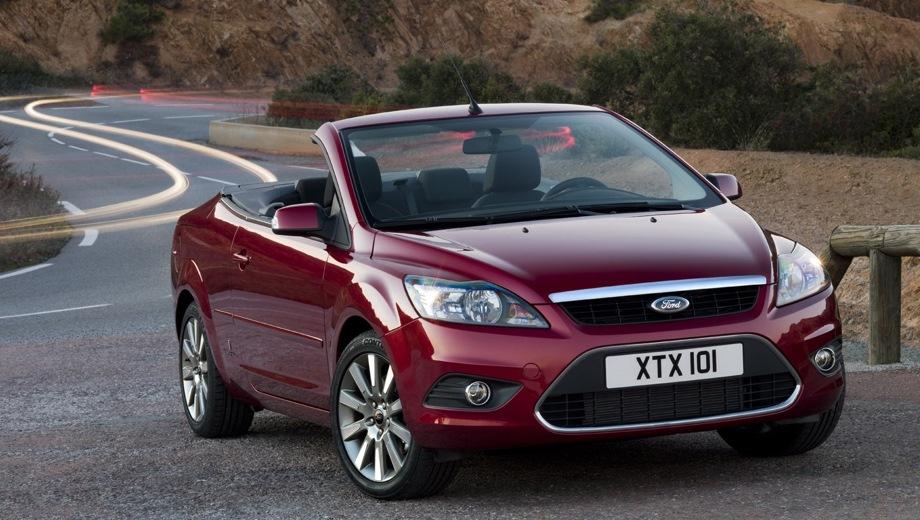 Ford Focus Coupe-Cabriolet. Выпускается с 2006 года. Три базовые комплектации. Цены от 847 400 до 979 400 руб.Двигатель от 1.6 до 2.0, бензиновый. Привод передний. КПП: механическая и автоматическая.