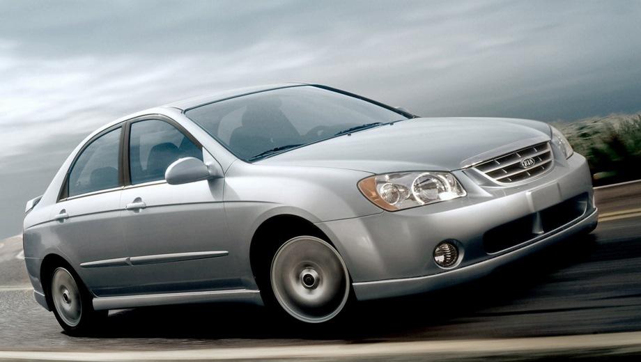 KIA Spectra. Выпускается с 1998 года. Пять базовых комплектаций. Цены от 379 000 до 439 000 руб.Двигатель 1.6, бензиновый. Привод передний. КПП: механическая и автоматическая.