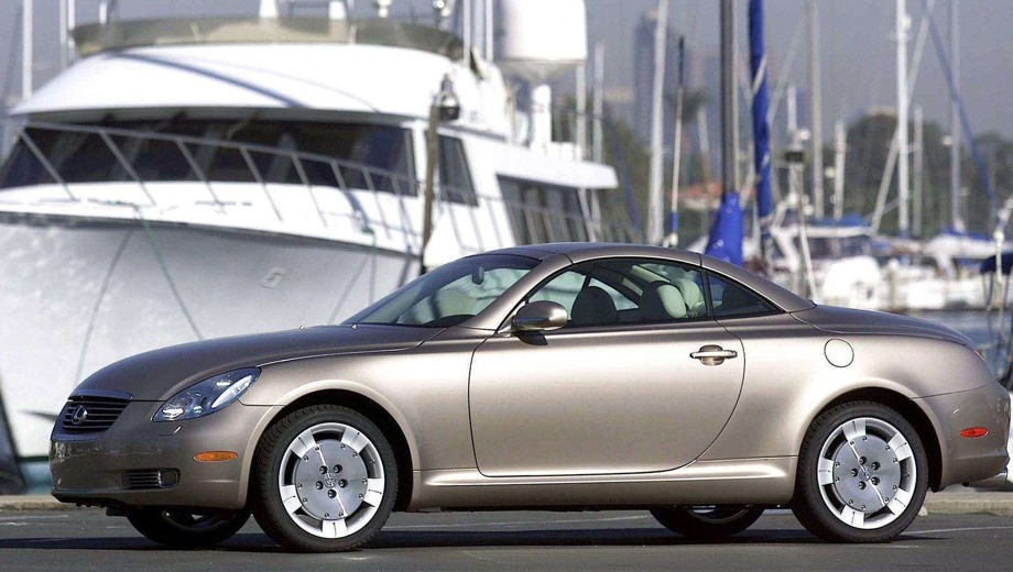 Lexus SC. Выпускается с 2001 года. Одна базовая комплектация. Цена 3 249 000 руб.Двигатель 4.3, бензиновый. Привод задний. КПП: автоматическая.