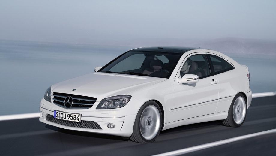 Mercedes-Benz CLC. Выпускается с 2008 года. Три базовые комплектации. Цены от 1 259 000 до 1 522 400 руб.Двигатель от 1.8 до 2.5, бензиновый. Привод задний. КПП: автоматическая.