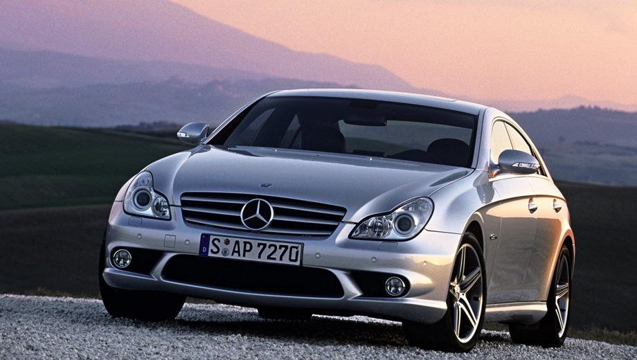 Mercedes-Benz CLS 63 AMG (2004). Выпускается с 2004 года. Одна базовая комплектация. Цена 6 400 000 руб.Двигатель 6.2, бензиновый. Привод задний. КПП: автоматическая.