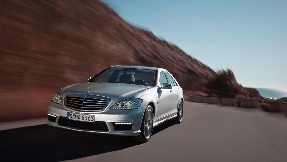 Mercedes-Benz S 63 L AMG. Выпускается с 2005 года. Цена пока неизвестна.