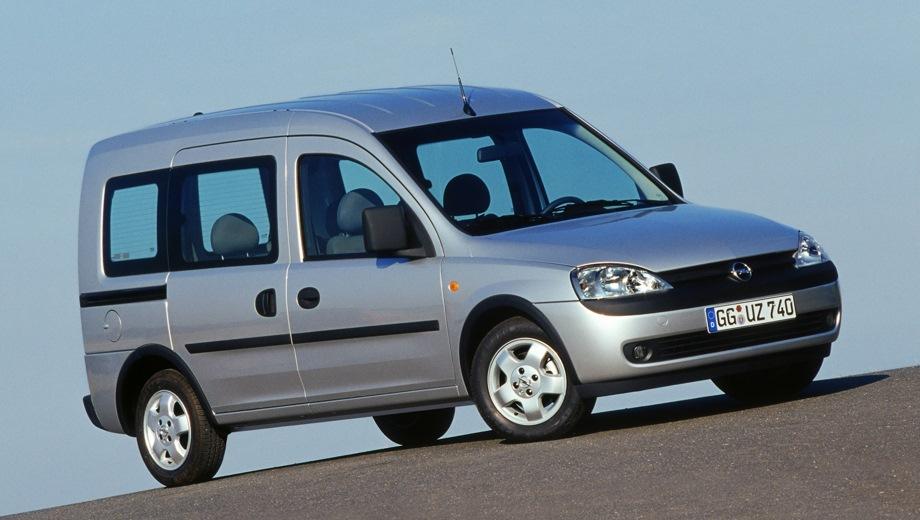 Opel Combo Tour. Выпускается с 2001 года. Пять базовых комплектаций. Марка официально не представлена на российском рынке.Двигатель от 1.2 до 1.4, бензиновый и дизельный. Привод передний. КПП: механическая.