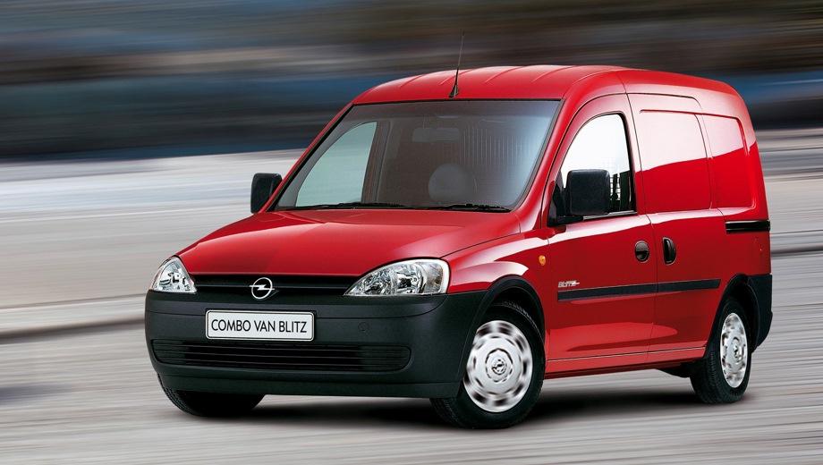 Opel Combo Van. Выпускается с 2001 года. Две базовые комплектации. Марка официально не представлена на российском рынке.Двигатель от 1.2 до 1.4, бензиновый и дизельный. Привод передний. КПП: механическая.