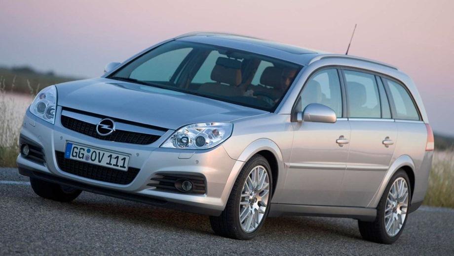 Opel Vectra Caravan. Выпускается с 2003 года. Девять базовых комплектаций. Марка официально не представлена на российском рынке.Двигатель от 1.8 до 2.8, бензиновый. Привод передний. КПП: механическая и роботизированная.