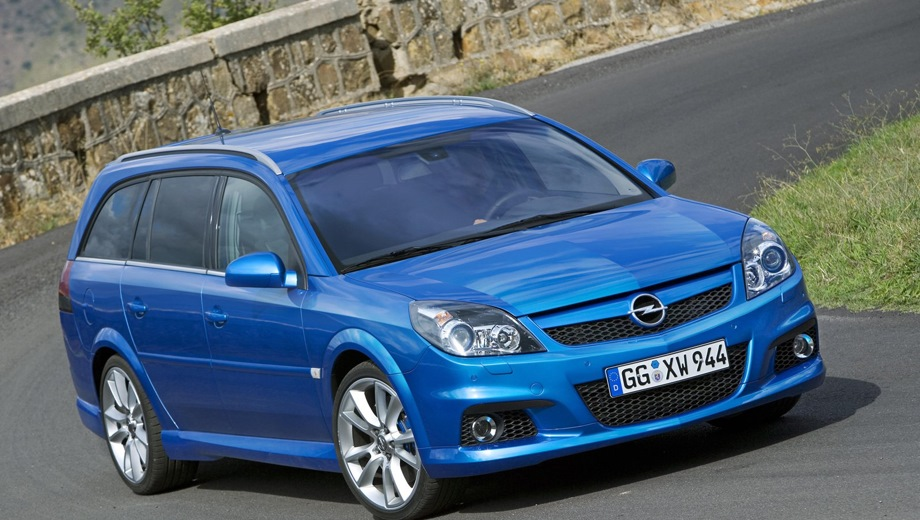 Opel Vectra Caravan OPC. Выпускается с 2003 года. Одна базовая комплектация. Марка официально не представлена на российском рынке.Двигатель 2.8, бензиновый. Привод передний. КПП: механическая.