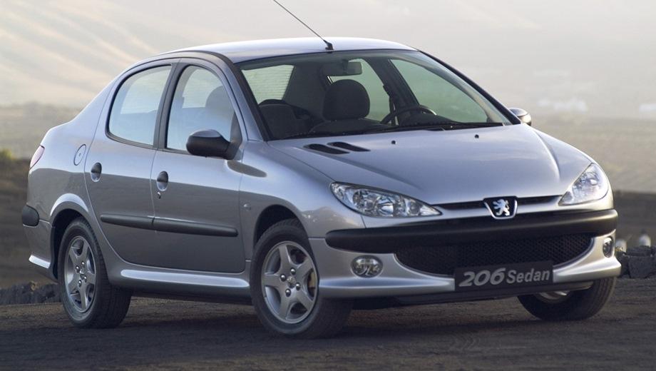 Peugeot 206 Sedan. Выпускается с 2006 года. Три базовые комплектации. Цены от 424 000 до 558 000 руб.Двигатель от 1.4 до 1.6, бензиновый. Привод передний. КПП: механическая и автоматическая.