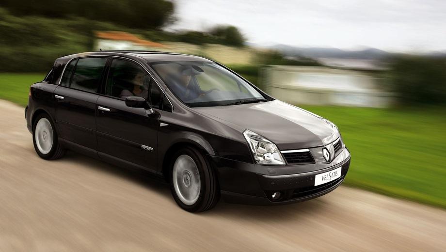 Renault Vel Satis. Выпускается с 2001 года. Три базовые комплектации. Цены от 1 432 600 до 1 921 000 руб.Двигатель от 2.0 до 3.5, бензиновый. Привод передний. КПП: автоматическая.