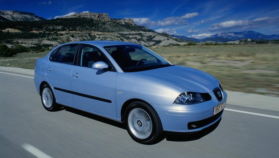 SEAT Cordoba. Выпускается с 2002 года. Три базовые комплектации. Марка официально не представлена на российском рынке.Двигатель 1.4, бензиновый. Привод передний. КПП: механическая.