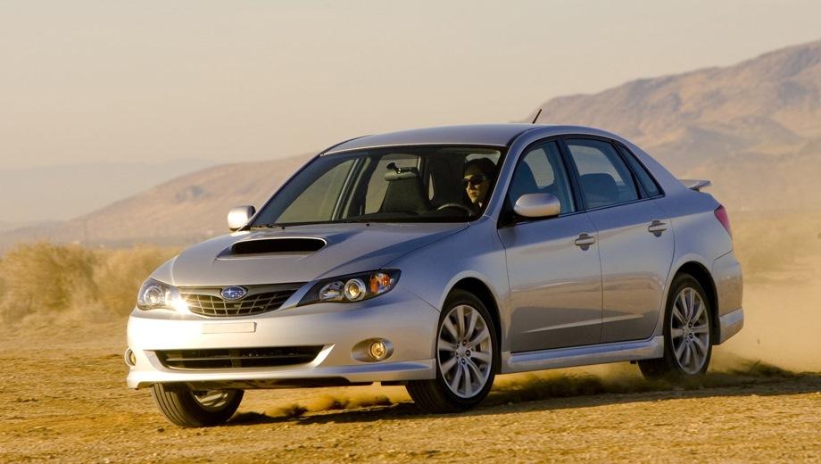 Subaru Impreza Sedan (2007). Выпускается с 2007 года. Шесть базовых комплектаций. Цены от 738 240 до 1 446 400 руб.Двигатель от 1.5 до 2.5, бензиновый. Привод полный. КПП: механическая и автоматическая.